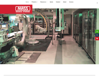massmedicalstorage.com screenshot
