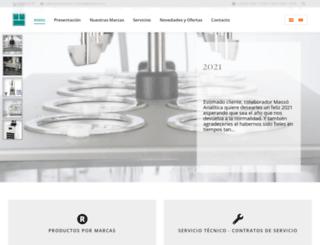 masso.com screenshot