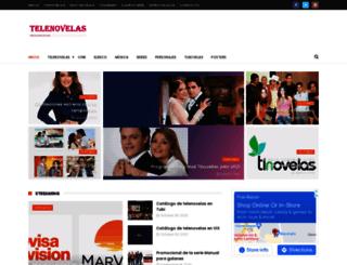 mastelenovelas.com screenshot