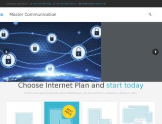 master-comm.net screenshot