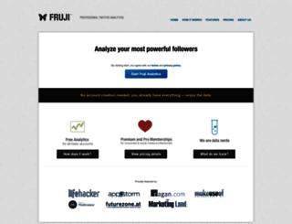 master.fruji.com screenshot