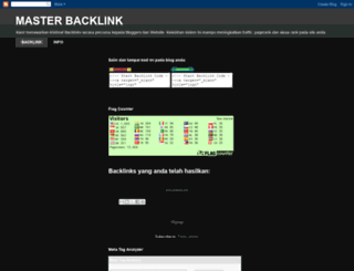 masterbacklink.blogspot.com screenshot