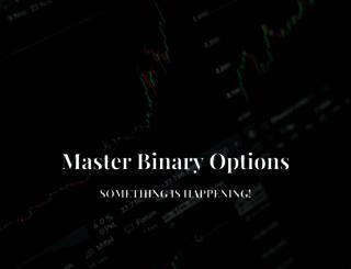masterbinaryoptions.com screenshot