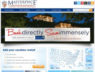 masterpiecerentals.com screenshot