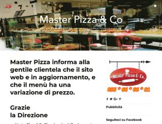 masterpizzaeco.it screenshot
