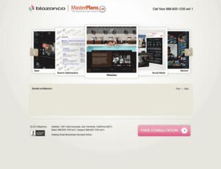 masterplans.blazonco.com screenshot