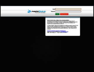 masterqueue.com screenshot