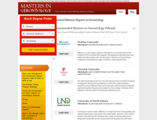 mastersingerontology.com screenshot