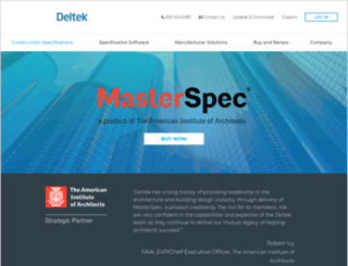 masterspec.com screenshot