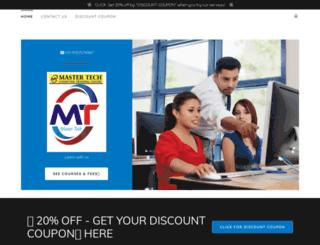 mastertechweb.com screenshot