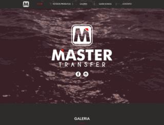 mastertransfer.com.br screenshot