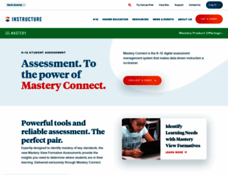 masteryconnect.com screenshot
