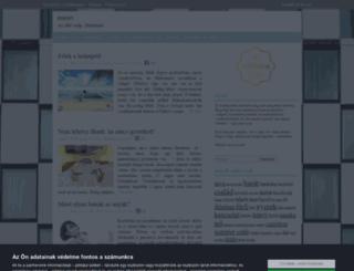 maszi.cafeblog.hu screenshot