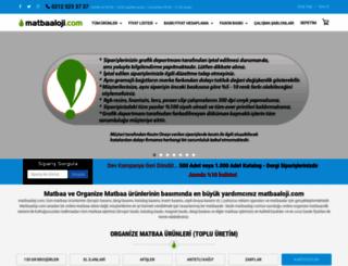 matbaaloji.com screenshot