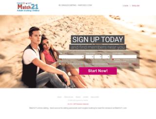match21.com screenshot