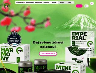 matchatea.cz screenshot