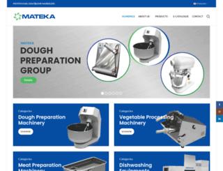 mateka.com screenshot