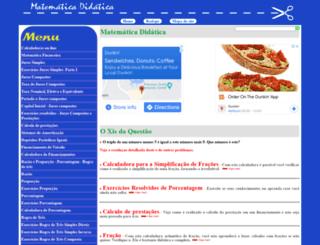 matematicadidatica.com.br screenshot