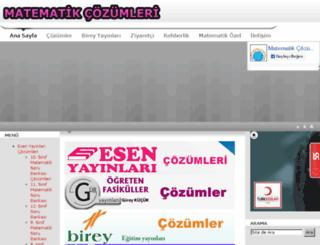 matematikkalesi.com screenshot