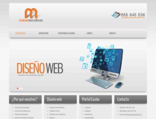 mateoestudio.es screenshot
