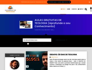 materiasdeteologia.com screenshot