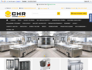 materielhoreca.fr screenshot