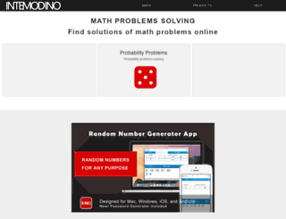 math.intemodino.com screenshot