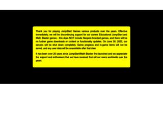 mathblaster.com screenshot
