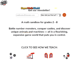 mathbreakers.com screenshot
