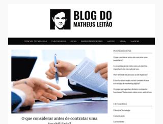 matheusleitao.com.br screenshot