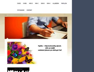mathewsclub.estranky.sk screenshot