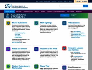 mathforum.com screenshot