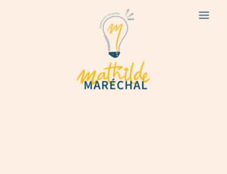 mathilde-marechal.com screenshot