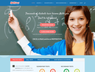 mathizen.com screenshot