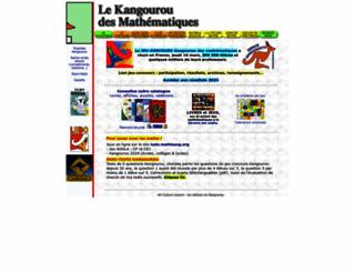 mathkang.org screenshot