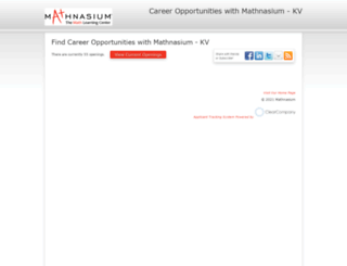 mathnasium.hrmdirect.com screenshot