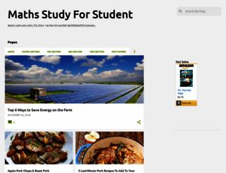 mathsstudyforstudent.blogspot.com screenshot