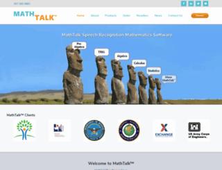 mathtalk.com screenshot
