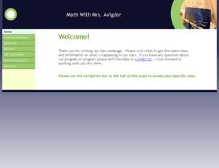 mathwithmrsa.net screenshot