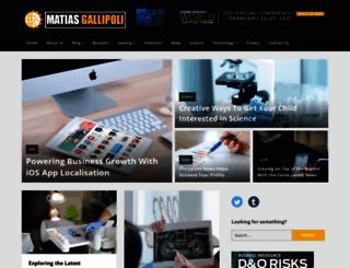 matiasgallipoli.com screenshot