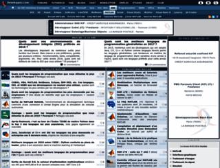 matlab.developpez.com screenshot
