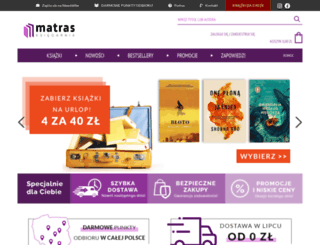 matras.pl screenshot