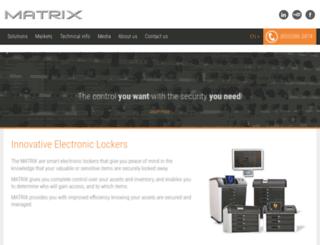 matrix-cabinet.com screenshot