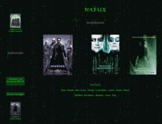 matrix.espaciolatino.com screenshot