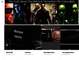matrixterminator.com screenshot