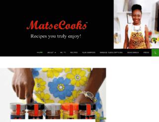 matsecooks.com screenshot