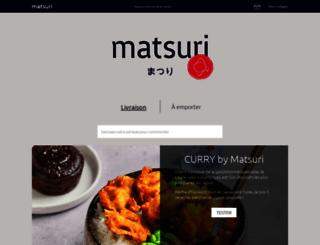 matsuri.fr screenshot