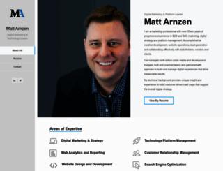 mattarnzen.com screenshot