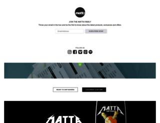 mattashapes.com screenshot