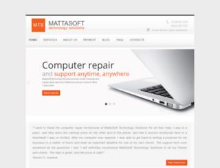 mattasoft.com.au screenshot